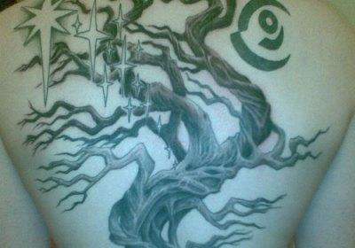 Endurance tree of life tattoo