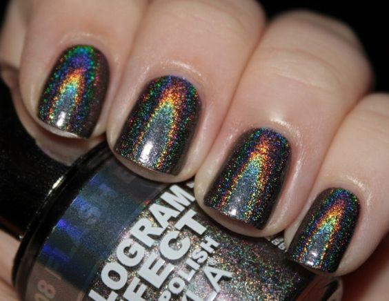 Gothic nails art