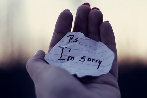 P.S. I'm sorry