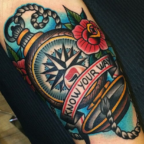 traditional nautical tattoo