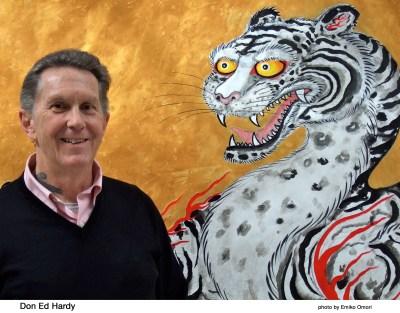 Don Ed Hardy tattoo artist in US