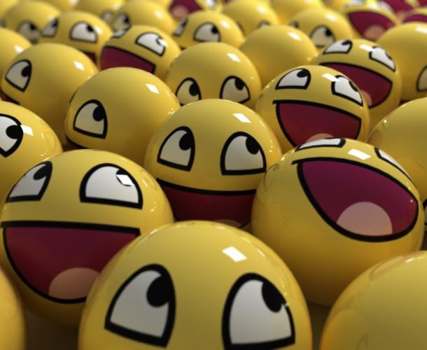 funny emoji picture in 3d