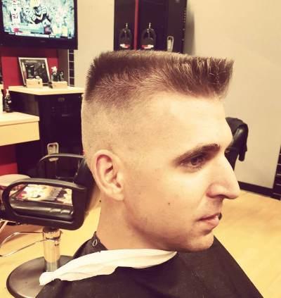 Classic Flat Top Haircut