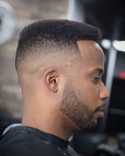 Partial Fade Flat Top Hairstyle
