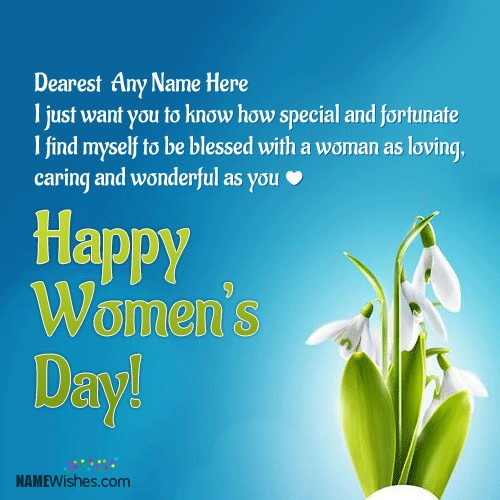 happy womens day 2018 greetings