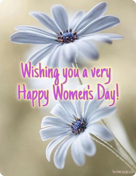 wishing you a very happy womens day