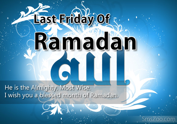 last friday of Ramadan