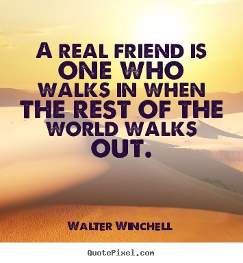 heart touching quote about real friend