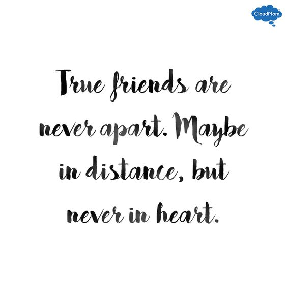 heart touching true friends quote