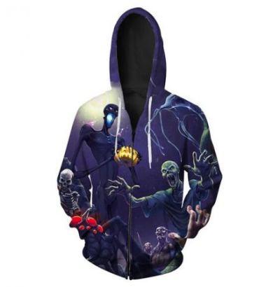halloween horror hoodies