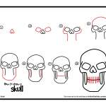 easy halloween drawings step by step for kids