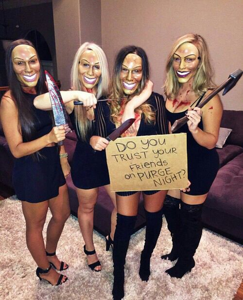 purge halloween costume ideas for college girls