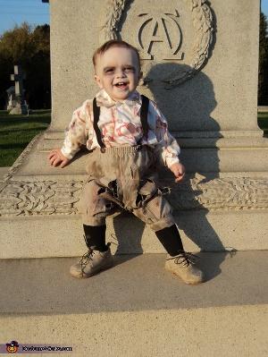 scary zombie kids costume ideas