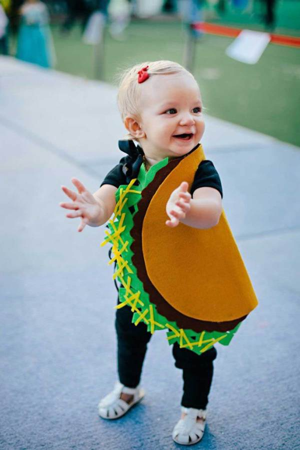 taco toddler costume