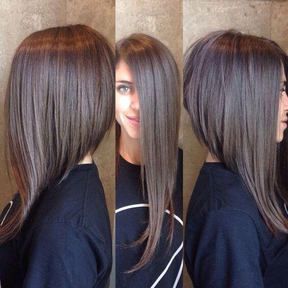 long inverted hairstyle