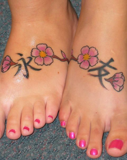 friendship symbol tattoos in Chinese