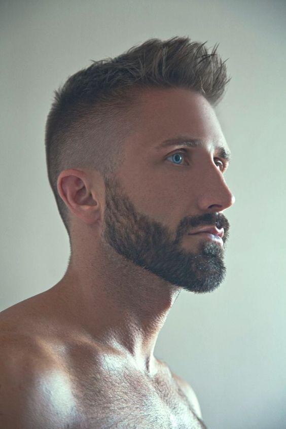 men taper fade haircut