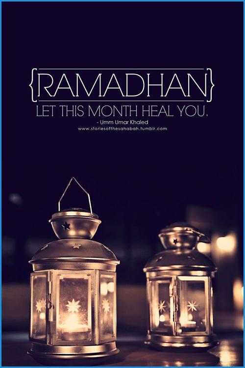 Ramadan quote image