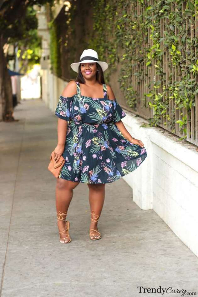trendy summer dress ideas for plus size women
