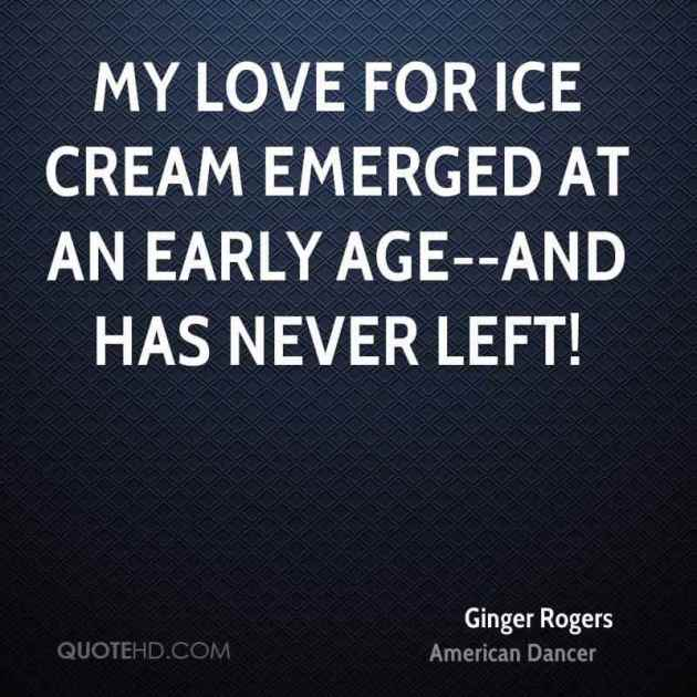 ice cream lover quotes