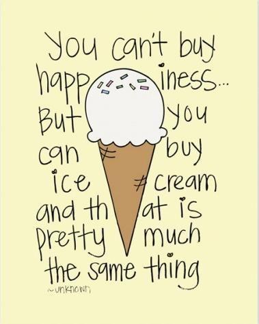 ice cream sayings