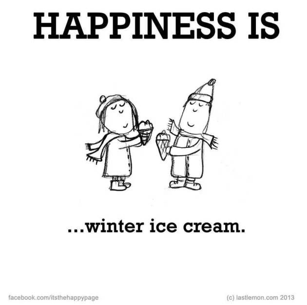 winter ice cream sayings