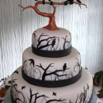 wedding cakes for halloween