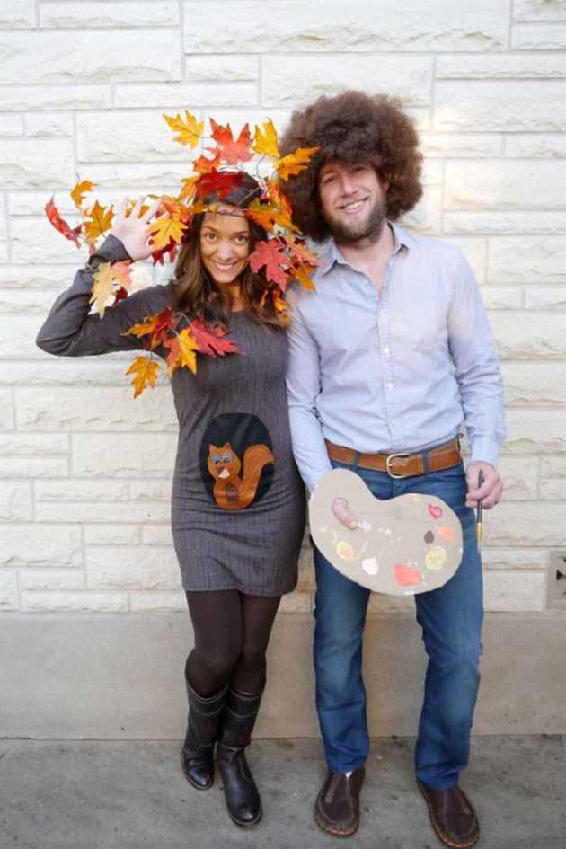 bob ross halloween costumes ideas for couples