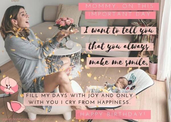 happy birthday quotes for new moms