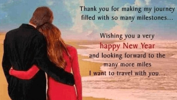 happy new year wishes for love of your life