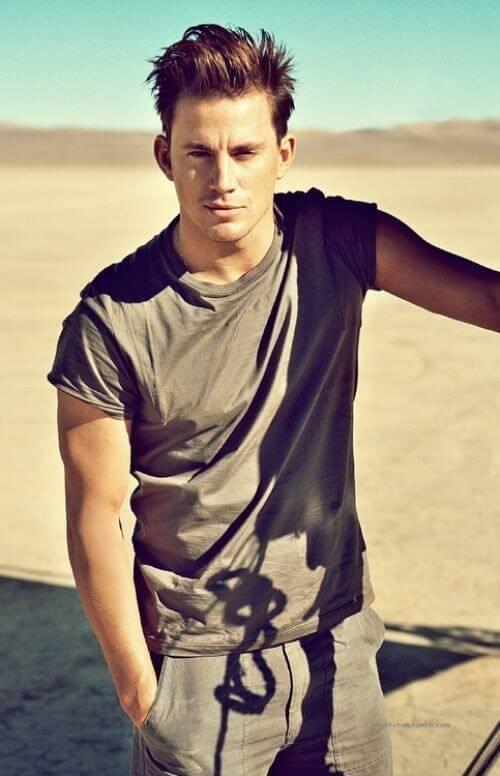 Channing Tatum back haircut