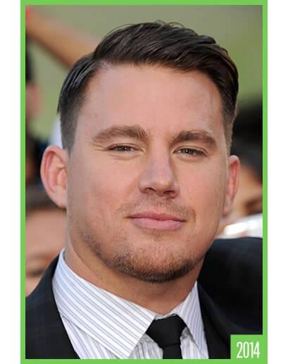 Channing Tatum's feathery style haircut