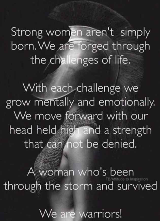 strong warrior woman quotes