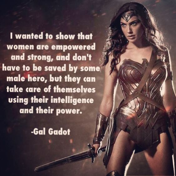 warrior woman quote for being independent