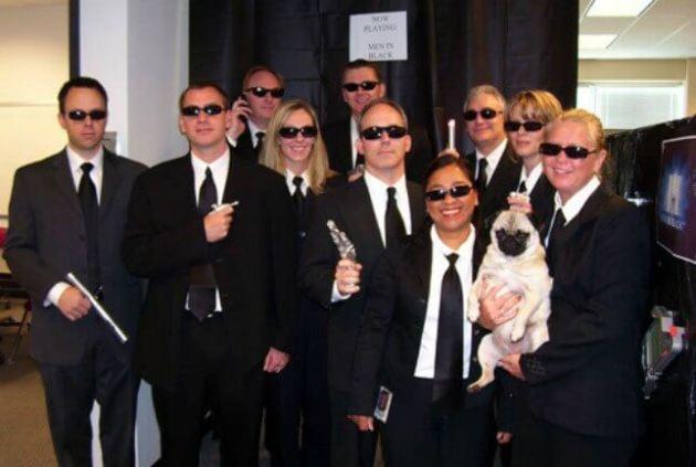 cheap diy men in black group halloween costume ideas