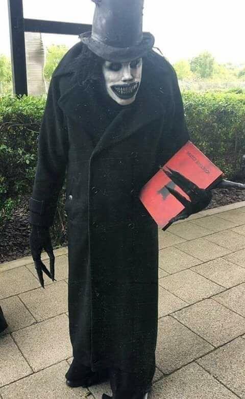 diy creepy babadook costume idea