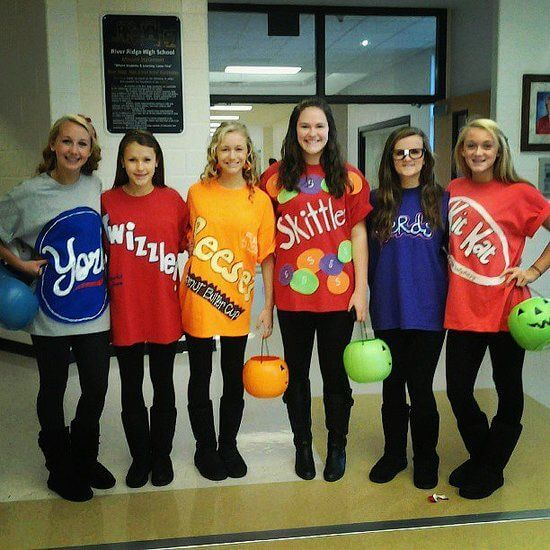 diy trick or treat group halloween costume ideas for 6