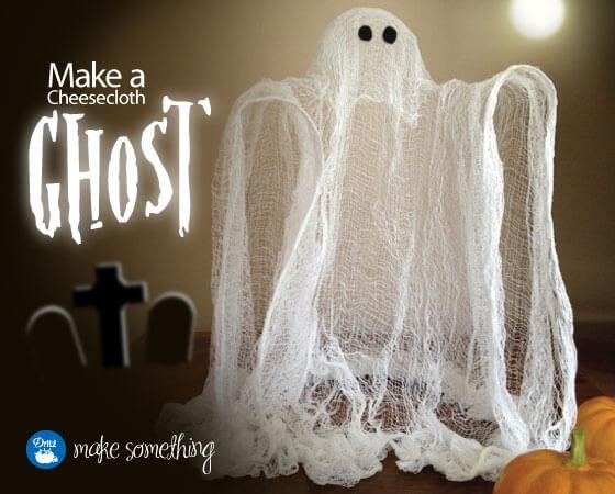 diy haunted mansion ghost ideas