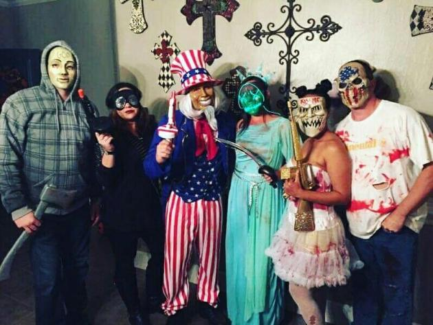 election year group of 6 purge halloween costume ideas
