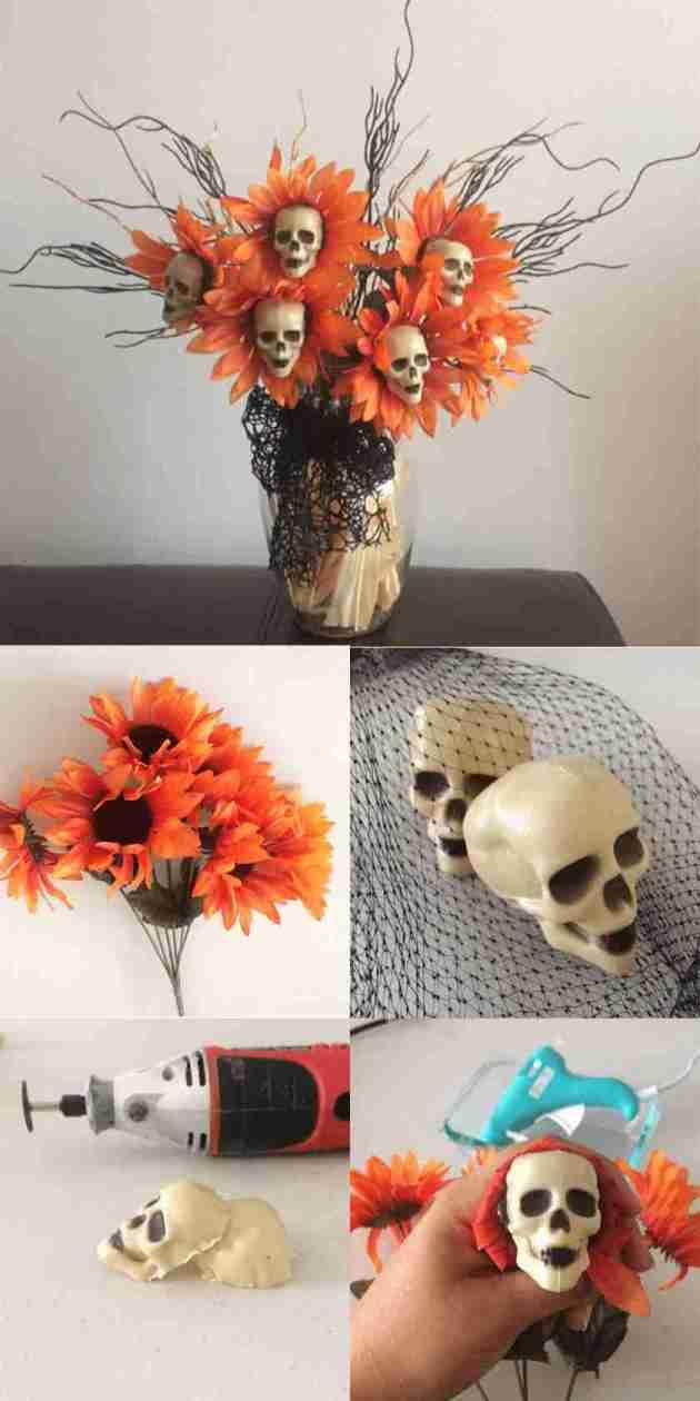 haunted mansion flower bouquet decoration ideas