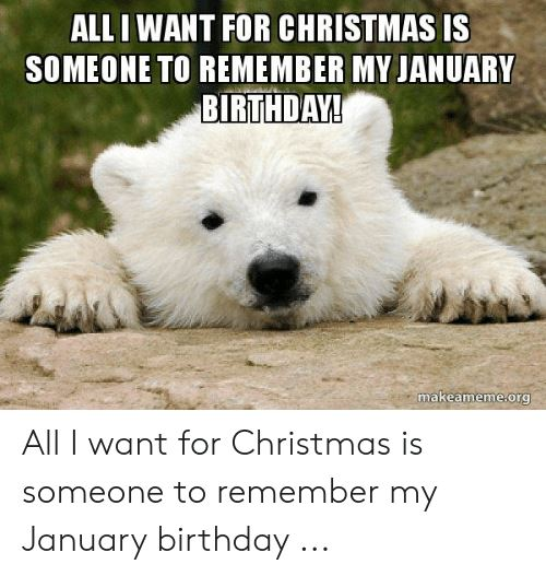 hilarious january birthday meme