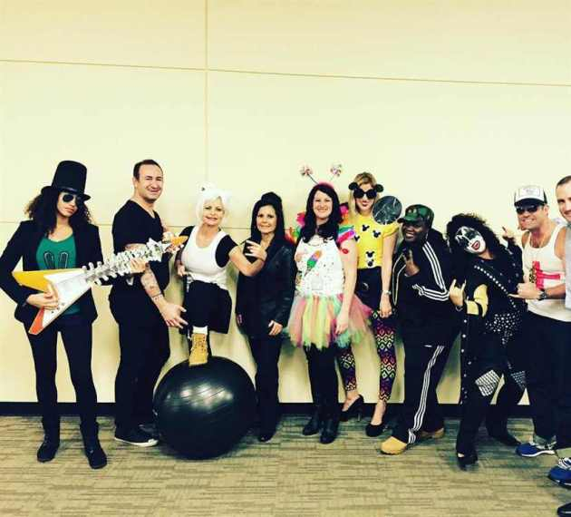 pop and rock stars group halloween costumes for work