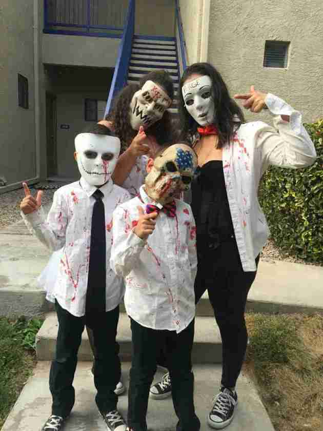 family purge group costumes for halloween