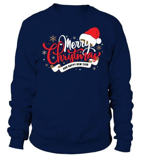 merry christmas long sleeve female sweater shirt