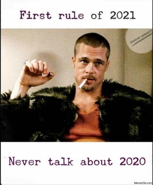 rules for new year 2021 meme