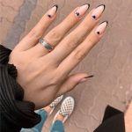 heart nails design