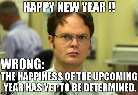 seriously funny happy new year meme