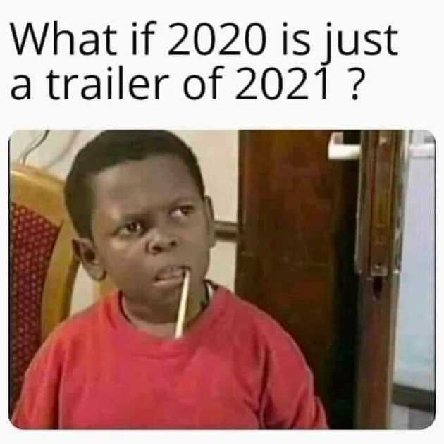 funny new year 2021 meme