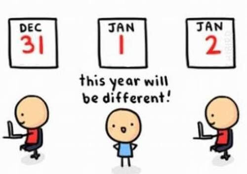 being same meme image for new year