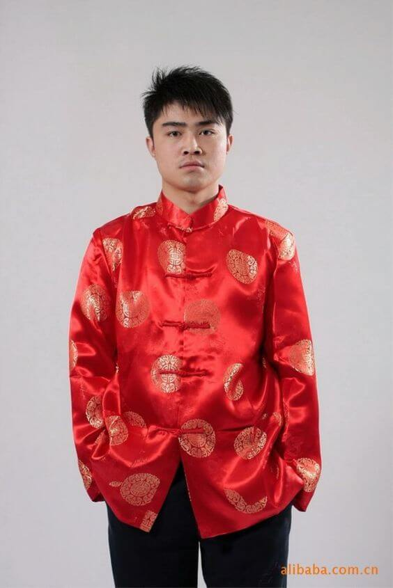 traditional men tang suit ideas for chinese new year